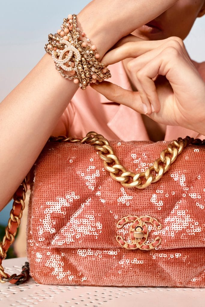 Chanel 19 Sequins Bag - Cruise 2021