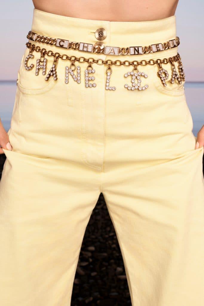 Chanel Chain Logo Belt - Cruise 2021