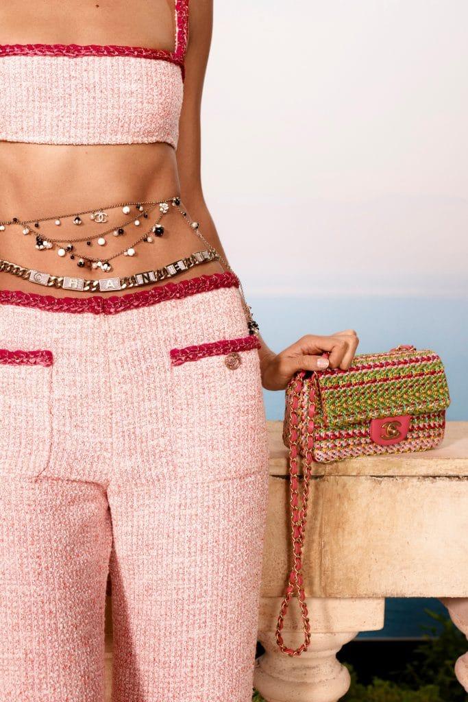 Chanel Rainbow Tweed Mini Bag - Cruise 2021