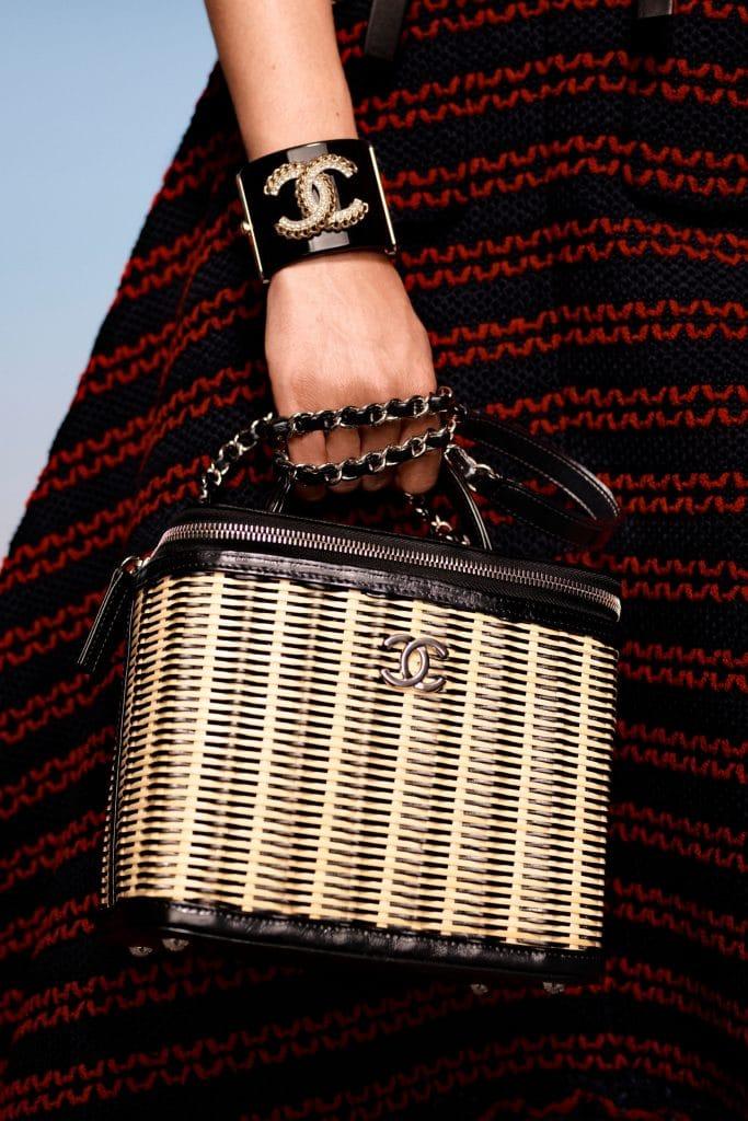 Chanel Basket Weave Vanity - Cruise 2021