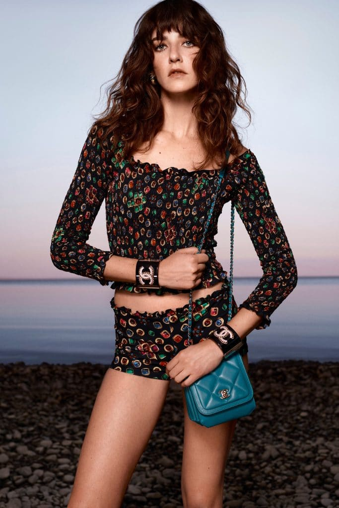Chanel Teal Flap Bag - Cruise 2021