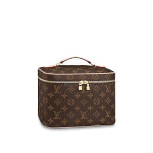 Louis Vuitton Monogram Canvas Nice BB Vanity Bag