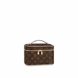 Louis Vuitton Monogram Canvas Nice Mini Vanity Bag