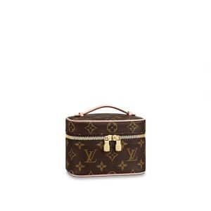 Louis Vuitton Monogram Canvas Nice Nano Vanity Bag