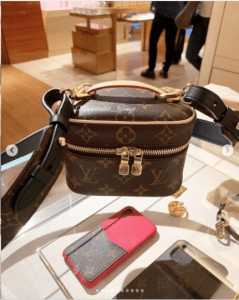 Louis Vuitton Nice Nano Vanity Bag with Strap 3