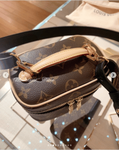Louis Vuitton Nice Nano Vanity Bag with Strap 4