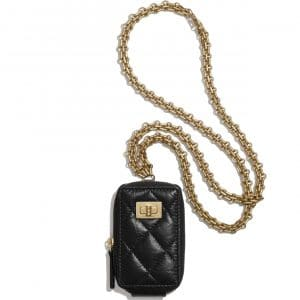 Chanel Black 2.55 Reissue Mini Clutch with Chain Bag