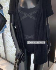 Chanel Black Coco Beach Robe