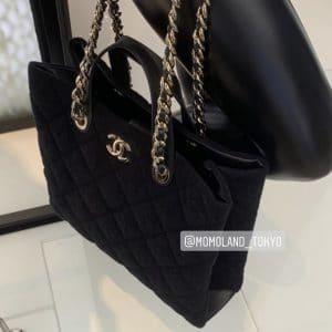 Chanel Black Coco Beach Shopping Bag