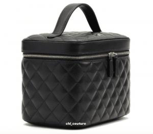 Chanel Black Large Vanity Case - Cruise 2021