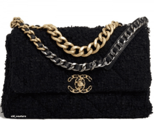 Chanel Black Tweed Large Chanel 29 Bag - Cruise 2021