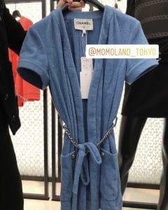 Chanel Blue Coco Beach Robe