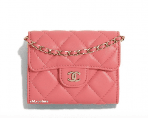 Chanel Coral Clutch on Chain Bag - Cruise 2021