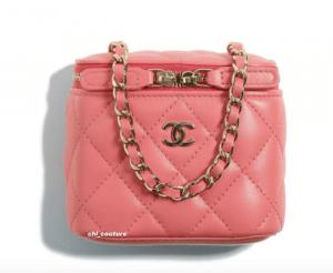Chanel Coral Mini Vanity Bag - Cruise 2021