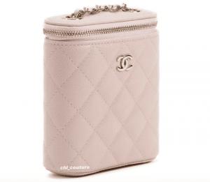 Chanel Light Pink Vanity Bag - Cruise 2021