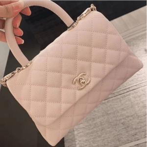 Chanel Lilac Coco Handle Small Bag