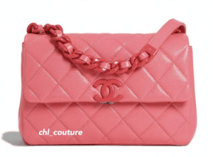 Chanel Pink Incognito Bag - Cruise 2021