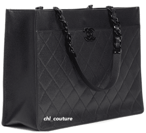 Chanel So Black Tote Bag - Cruise 2021