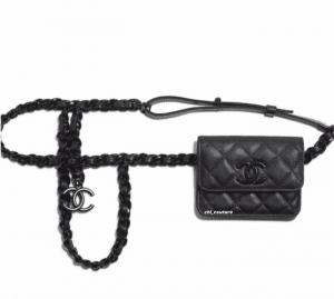 Chanel So Black Waistbag : Crossbody Bag - Cruise 2021
