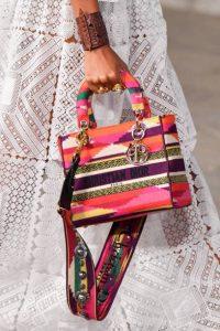 Dior Multicolor Embroidered Small Book Tote Bag - Cruise 2021