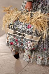 Dior Multicolor Floral Embroidered Catherine Tote Bag - Cruise 2021