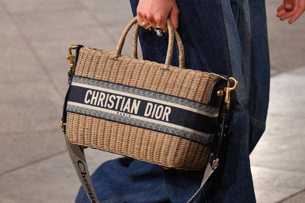 Dior Rattan Basket Tote Bag 2 - Cruise 2021