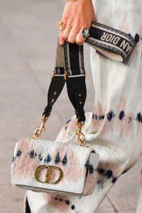 Dior White Tie Dye Fabric 30 Montaigne Bag - Cruise 2021