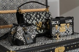 Louis Vuitton Black Monogram Petite Malle and Shoulder Bags - Cruise 2021