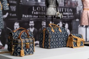 Louis Vuitton Blue Monogram Speedy and Shoulder Bags - Cruise 2021