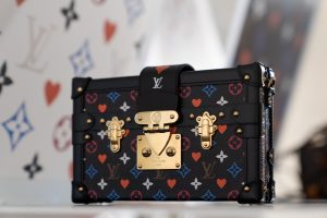 Louis Vuitton Black Multicolor Petite Malle Bag - Cruise 2021