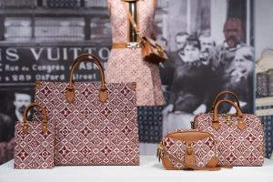 Louis Vuitton Burgundy Monogram Tote / Speedy and Shoulder Bags - Cruise 2021