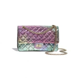 Chanel Multicolor Metallic Goatskin 2.55 Reissue Bag