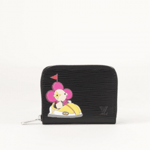 Louis Vuitton Black Epi Christmas Animation Zippy Coin Purse