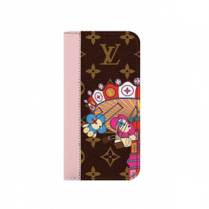 Louis Vuitton Monogram Canvas/Swing Ride Christmas Animation Phone Case
