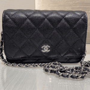 Chanel Black Mini WOC