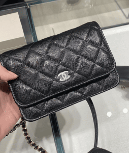 Chanel Black Mini WOC 5