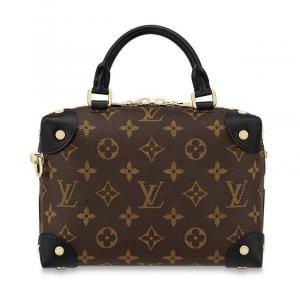 Louis Vuitton Black Monogram Canvas Petite Malle Souple Bag 3