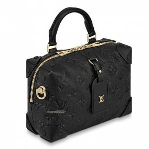 Louis Vuitton Black Monogram Empreinte Petite Malle Souple Bag 1