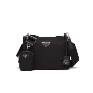 Prada Black Nylon Re-Edition 2000 Shoulder Bag