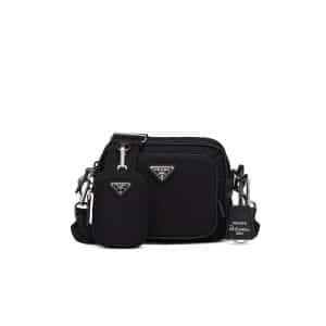 Prada Black Nylon Re-Edition 2005 Mini Crossbody Bag