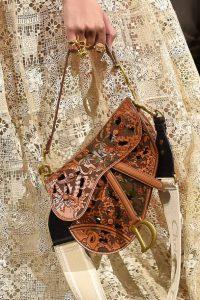 Dior Perforated Saddle Bag - Spring 2021