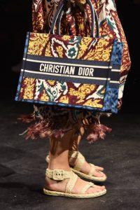 Dior Multicolor Book Tote - Spring 2021