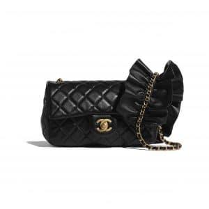 Chanel Black Bag Romance Rectangular Mini Flap Bag