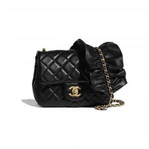 Chanel Black Bag Romance Square Mini Flap Bag