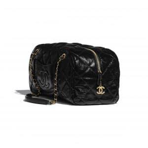 Chanel Black Large Bowling Bag