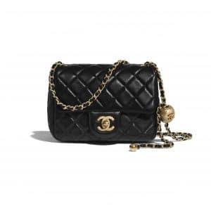 Chanel Black Pearl Crush Mini Flap Bag