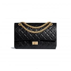 Chanel Black Reissue 2.55 225 Bag