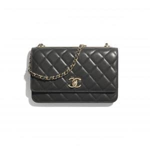 Chanel Black Trendy CC Wallet on Chain