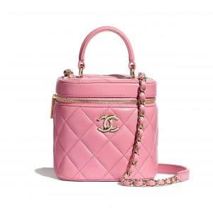 Chanel Pale Pink Vanity Case Bag
