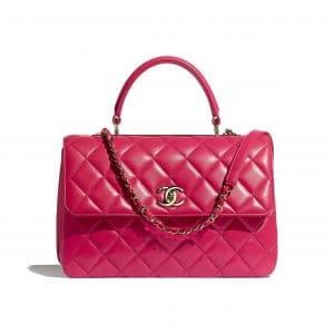 Chanel Pink Trendy CC Top Handle Bag